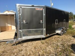 Sale7x23 Drive in and out Snowmobile Trailer