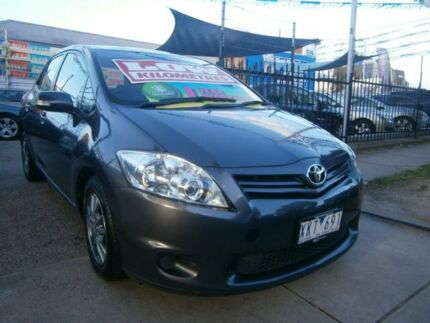 2009 Toyota Corolla ZRE152R MY10 Ascent Grey 4 Speed Automatic Hatchback Preston Darebin Area Preview