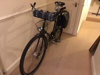 """Pashley Sovereign 24"""" double top tube mens bicycle."""
