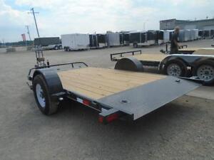PJ Cushion tilt deck 7 x 13' w/7000lb GVWR -HD Equipment trailer London Ontario image 6