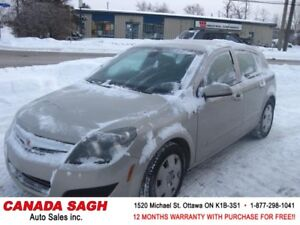 2009 Saturn Astra XE 97KM EXTRA CLEAN! 12M.WRTY+SAFETY $3990