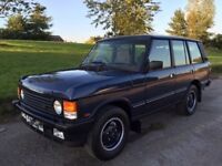 Range rover 3.9 v8 classic Concourse condition never welded fsh 47,000 miles