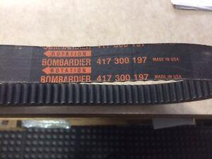 Ski-doo BRP 417 300 197 Drive Belt Kitchener / Waterloo Kitchener Area image 1