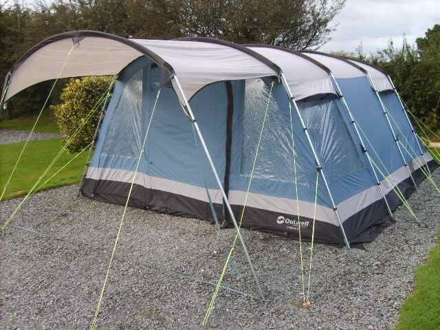 Outwell Indiana 6 Tent 6 Person Excellent Condition In