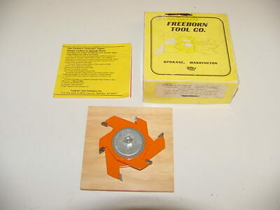 Freeborn Tool 2-piece Wood Cutter Shaper 1 58 2 1 14 Center Hole Mc-50 New