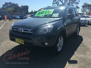 2008 Toyota RAV4 GSA33R 08 Upgrade SX6 Grey 5 Speed Automatic Wagon Lansvale Liverpool Area Preview