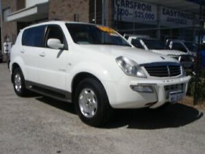 2005 Ssangyong Rexton Y200 RX320 Limited White 4 Speed Automatic Wagon Wangara Wanneroo Area Preview