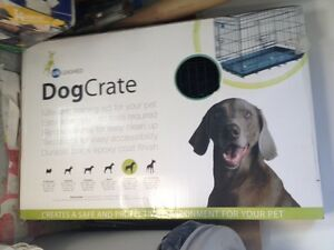 NEW, still in box, dog crate