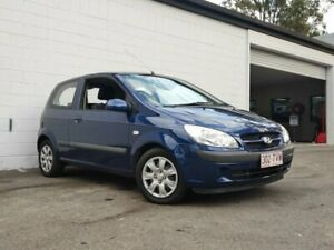 2007 Hyundai Getz TB MY06 Blue 4 Speed Automatic Hatchback Ashmore Gold Coast City Preview