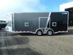 **MUST SEE** 22+5 ENCLOSED ALL-ALUMINUM *LOADED* TOY HAULER