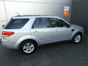 2012 Ford Territory SZ TX Seq Sport Shift Silver 6 Speed Sports Automatic Wagon Coburg North Moreland Area Preview