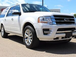 2016 Ford Expedition MAX SUNROOF, COOLED/HEATED SEATS, POWER REA