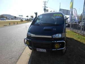 1996 Mitsubishi Delica Black 4 Speed Automatic Van Garbutt Townsville City Preview