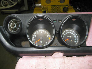 73 Mazda 240 z  Instrument panel 8000 rpm. 130 mph. nice cond.