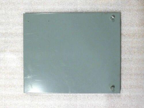 """Allen Bradley Motor Control Center MCC 1 Space Factor Blank Door for 12"""" Bucket"""