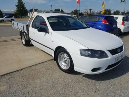 2007 Ford Falcon BF MkII XL (LPG) Tradesman White 4 Speed Auto Seq Sportshift Cab Chassis Officer Cardinia Area Preview