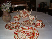 a complete set of dishes (Copeland Spode England )