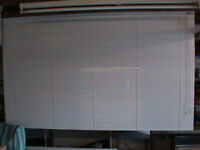 white alloy venetian blind brand new and unused with all fixings
