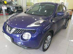 2015 Nissan Juke F15 Series 2 ST X-tronic 2WD Blue 1 Speed Constant Variable Hatchback Ringwood Maroondah Area Preview