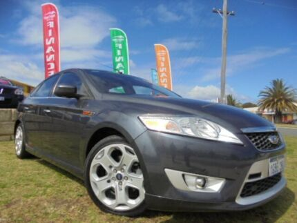 2007 Ford Mondeo MA XR5 Turbo Grey 6 Speed Manual Hatchback