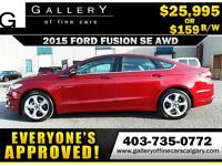 2015 Ford Fusion SE AWD $159 bi-weekly APPLY NOW DRIVE NOW