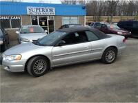 2004 Chrysler Sebring LX Convertible Certified and Etested!