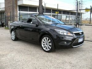 2008 Ford Focus LT Coupe-Cabriolet Black 4 Speed Automatic Cabriolet Wangara Wanneroo Area Preview