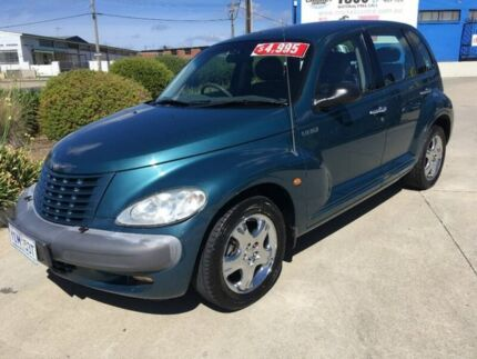 2002 Chrysler PT Cruiser PG MY2003 Limited Green 4 Speed Automatic Wagon