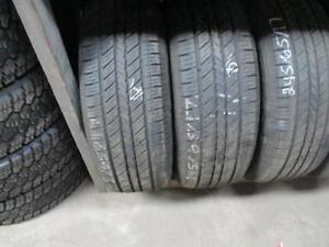 215/65R17 2 ONLY USED EVERGREEN A/S TIRES