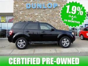 **Cretified Pre-Owned** 2012 Ford Escape XLT Low 1.9% Financing