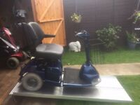 Medium Any Terrain Sterling 3 Wheel Mobility Scooter 18 Stone Capacity New Batteries Only £265