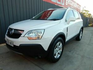 2010 Holden Captiva CG MY10 5 White 5 Speed Manual Wagon Blair Athol Port Adelaide Area Preview