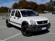2006 Holden Rodeo RA MY06 LX Crew Cab White 5 Speed Manual Cab Chassis Maddington Gosnells Area Preview