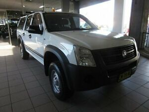 2008 Holden Rodeo RA MY08 LX White 4 Speed Automatic Crew Cab P/Up Thornleigh Hornsby Area Preview