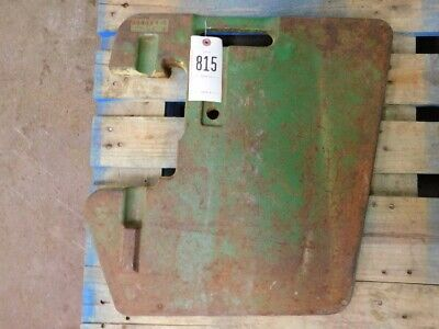 John Deere 40 Or 50 Series Tractor Suitcase Weights Part R58823 Tag 815