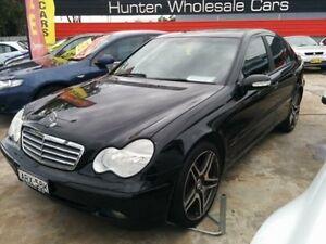 2004 Mercedes-Benz C180 Kompressor W203 Classic Black 5 Speed Automatic Sedan Sandgate Newcastle Area Preview