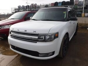 2015 Ford Flex SEL AWD, PST paid, leather, sunroof, nav, alloys,