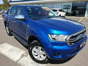 2018 Ford Ranger PX MkIII 2019.00MY XLT Pick-up Double Cab Blue 10 Speed Sports Automatic Utility Kilmore Mitchell Area Preview