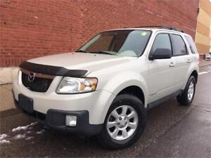 2008 MAZDA TRIBUTE GT 4WD *LEATHER,SUNROOF,HEATED SEATS,LOADED!*
