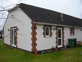 2 bed (1 double, 1 single) self contained annexe to rent with parking