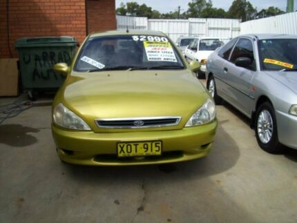 2001 Kia Rio  Green 4 Speed Automatic Hatchback Woodbine Campbelltown Area Preview