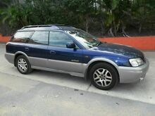 2001 Subaru Outback B3A MY01 Limited AWD Blue 4 Speed Automatic Wagon Molendinar Gold Coast City Preview