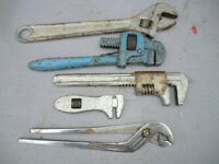 Vintage spanners and wrenches