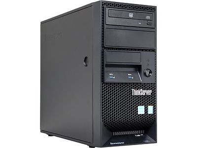 Lenovo ThinkServer TS140 70A4003AUX Tower Server - 1 x Intel Xeon E3-1226 V3 Qua