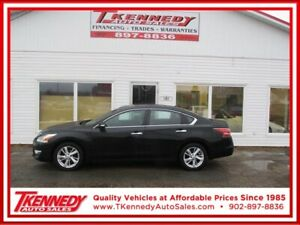 2014 NISSAN ALTIMA SL ** FINANCE  ONLY $114.00 B/W OAC **