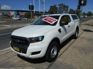 2016 Ford Ranger PX MkII XL Super Cab White 6 Speed Manual Utility Fyshwick South Canberra Preview