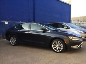 2016 Chrysler 200 C AWD | Fully Loaded Special