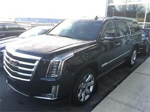 NEW 2016 Cadillac Escalade ESV Premium BLACK , kona brown intetr