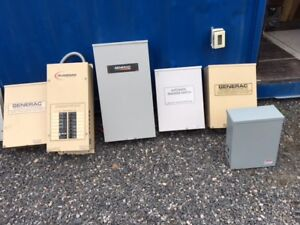 Assorted Transfer Switches and ATS Panel combo for Sale