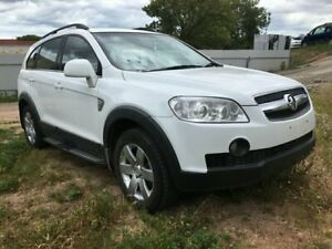 2010 Holden Captiva CG MY10 CX AWD White 5 Speed Sports Automatic Wagon Blair Athol Port Adelaide Area Preview